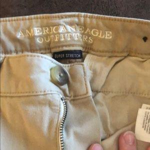 American Eagle skinny khakis